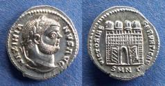 Ancient Coins - Roman Empire, Maximianus 296-305, Argenteus