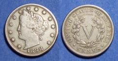 Us Coins - United States,  1888,  Liberty Nickel