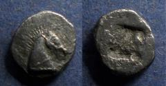 Ancient Coins - Thraco-Macedonian, Uncertain Circa 450 BC, Diobol