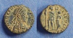 Ancient Coins - Roman Empire, Arcadius 383-408, AE3