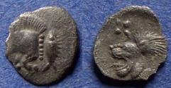 Ancient Coins - Mysia, Kyzikos 480-450 BC, Silver Tetartemorion(?)