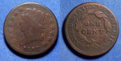 Us Coins - United States,  1812 Small date,  Classic Head Cent