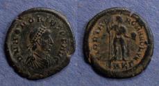 Ancient Coins - Roman Empire, Honorius 393-408, AE2
