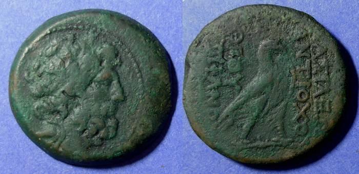 Ancient Coins - Seleucid Kingdom, Antiochos IV 175-164 BC, AE35