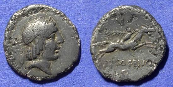 Ancient Coins - Roman Republic - Denarius 90 BC - Calpurnia 11