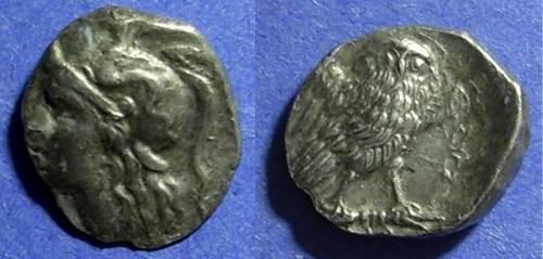 Ancient Coins - Taras, Calabria 281-272 BC, Drachm