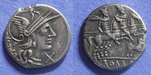 Ancient Coins - Roman Republic, C Antestius 146 BC, Denarius