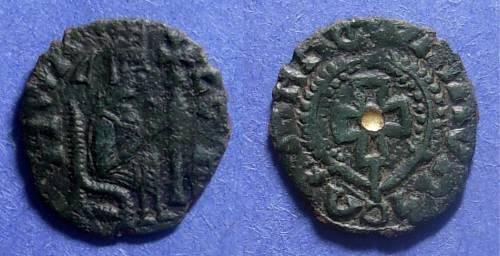 Ancient Coins - Axum, Armah 600-630 AD, AE17