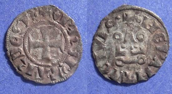World Coins - Epirus (Frankish rule), Philip of Taranto 1304-13, Lepanto