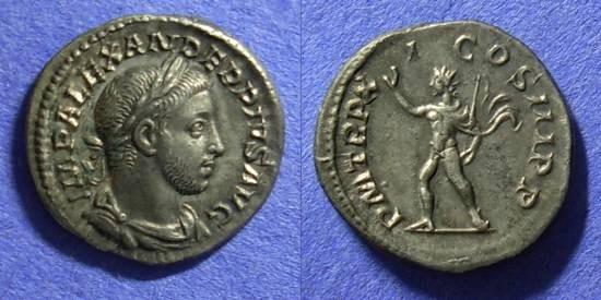 Ancient Coins - Roman Empire – Severus Alexander 222-235 – Denarius