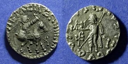 Ancient Coins - Indo-Scythian, Azes 5BC - 40 AD, Drachm