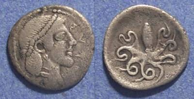 Ancient Coins - Syracuse, Sicily 466-405 BC, Litra