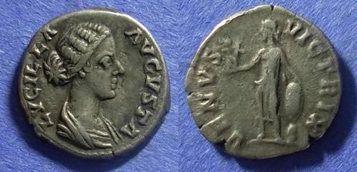 Ancient Coins - Roman Empire Lucilla (wife of L Verus) 161-169 Denarius