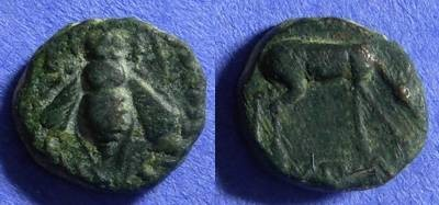 Ancient Coins - Ephesos Ionia AE15 - Circa 275 BC