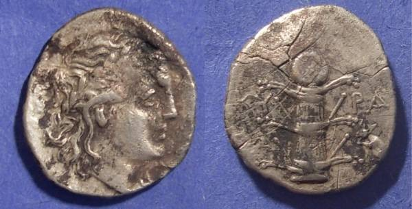 Ancient Coins - Kyrene, Kyrenaica 300-277 BC, Didrachm