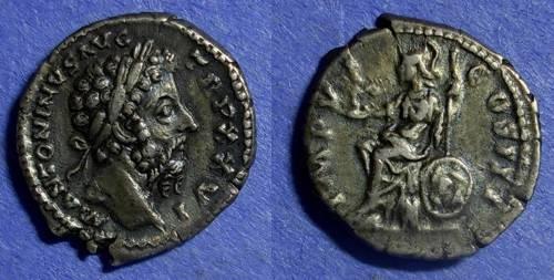 Ancient Coins - Roman Empire Marcus Aurelius 161-180 Denarius