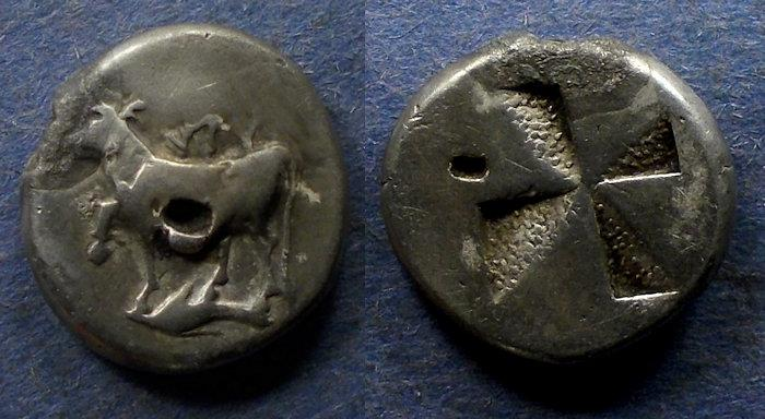 Ancient Coins - Thrace, Byzantion 340-320 BC, Siglos