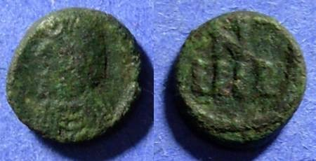 Ancient Coins - Vandals, Carthage municipal coinage 523-533, 4 Nummi