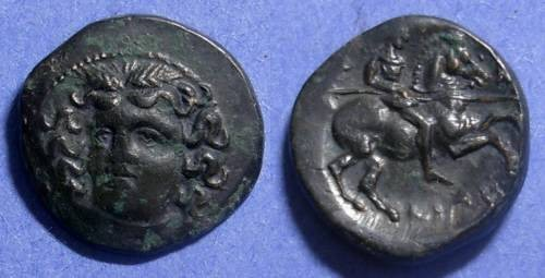 Ancient Coins - Larissa, Thessaly 400-344 BC, AE19