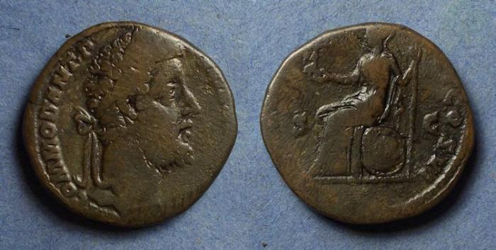 Ancient Coins - Roman Empire, Commodus 177-192, Sestertius