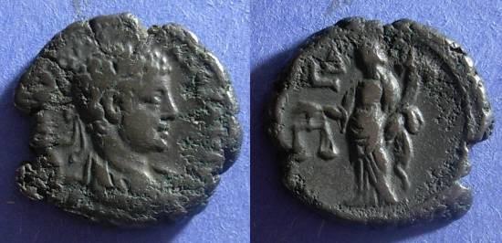 Ancient Coins - Roman Egypt, Elagabalus 218-222, Tetradrachm