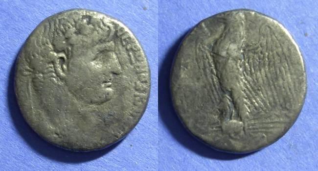 Ancient Coins - Roman Antioch, Nero 54-68 ad, Tetradrachm