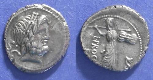 Ancient Coins - Roman Republic, L Procilius 80 BC, Denarius