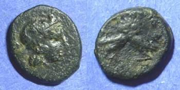 Ancient Coins - Athens Attica 350-262 BC AE12 x 14