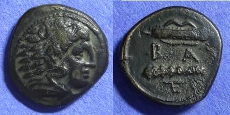 Ancient Coins - Macedonian Kingdom Alexander III 336-323BC AE17