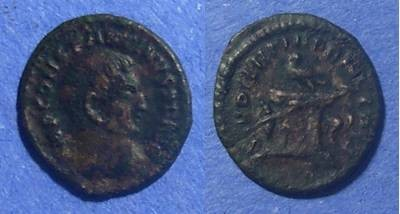 Ancient Coins - Roman Empire, Constantine 307-337, 1/4 Follis