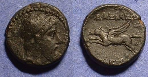 Ancient Coins - Seleucid Kingdom: Seleukos II 246-226 BC  AE16