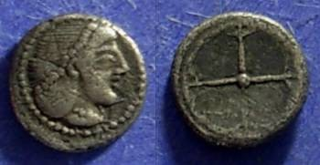 Ancient Coins - Syracuse Sicily 475-470 BC Obol