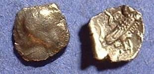 Ancient Coins - Phoenicia area imitation of an Athenian Obol Circa 375 BC
