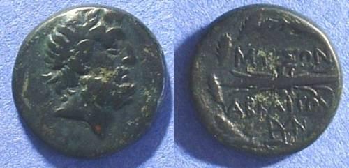 Ancient Coins - Abbaitis Phrygia AE21 - 2nd Century BC