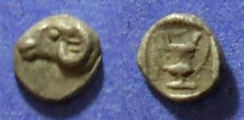 Ancient Coins - Kebren, Troas 440-400 BC, Hemiobol