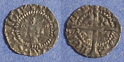 Ancient Coins - Henry V 1413-22 - Halfpenny
