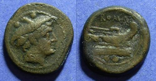 Ancient Coins - Roman Republic, Anonymous Circa 200 BC, Sextans