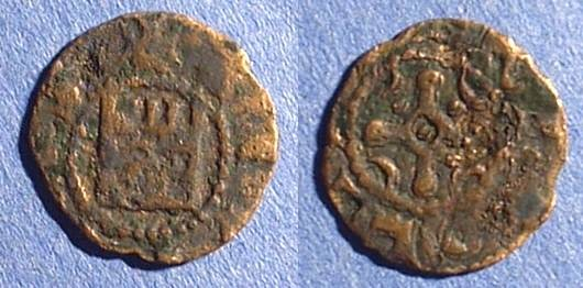 Ancient Coins - Crusader Tripoli Bohemond IV 1187-1233 AE Pougeoise