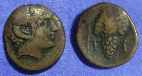 Ancient Coins - Cyclades – Tenos AE19 – Circa 300-200 BC *Lindgren Plate Coin*