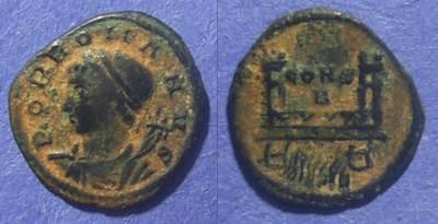 Ancient Coins - Roman Empire, Constantinople Commemorative Circa 330 AD, AE4