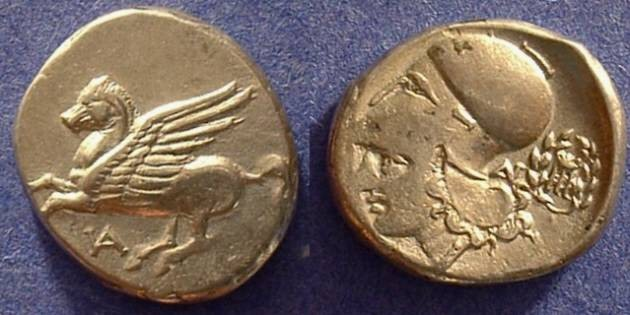 Ancient Coins - Anaktorion Akarnania Stater 345-300 BC