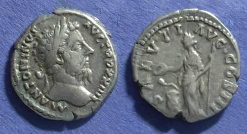 Ancient Coins - Roman Empire, Marcus Aurelius 161-180, Denarius