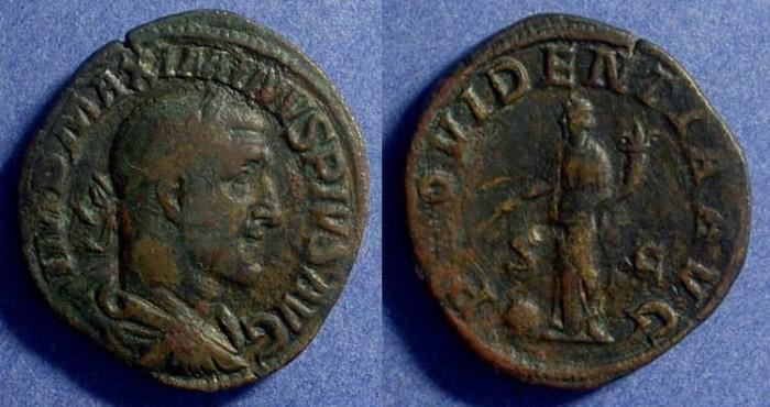 Ancient Coins - Maximinus 235-8AD Sestertius