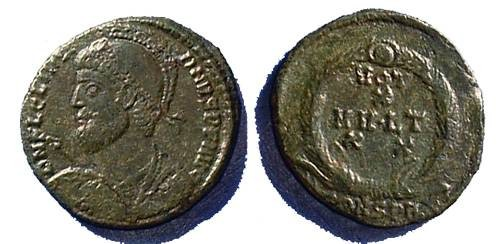 Ancient Coins - Julian II, 361-3AD, Nice AE-3 of Constantinople