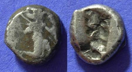 Ancient Coins - Persians - Siglos Circa 400 BC