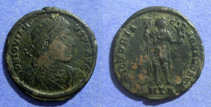 Ancient Coins - Roman Empire, Jovian 363-4, AE1