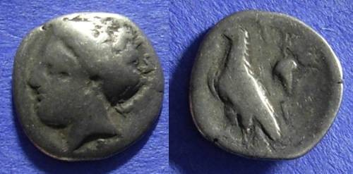 Ancient Coins - Olympia – Elis Hemidrachm Circa 330 BC