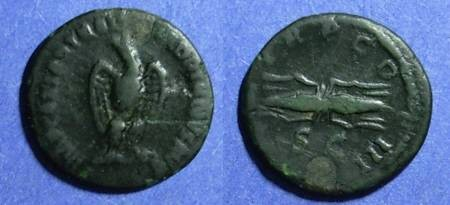 Ancient Coins - Roman Empire, Hadrian 117-138 AD, Quadrans