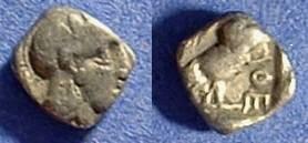 Ancient Coins - Athens - 449-413 BC Obol