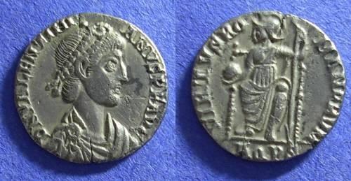 Ancient Coins - Valentinian II Siliqua 375-392 AD Aquileia mint